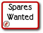Spares Wanted